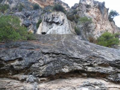 camino primitivo maderuelo senda del oso nacimiento del rio mundo embalse de picadas